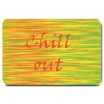 Chill out Large Doormat  30 x20 Door Mat - 1