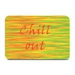 Chill out Plate Mats 18 x12 Plate Mat - 1