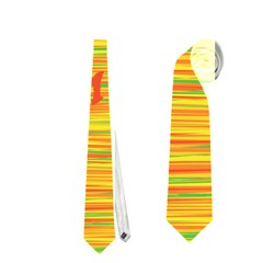 Chill Out Neckties (one Side)  by Valentinaart