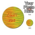 Chill out Multi-purpose Cards (Round)  Front 35