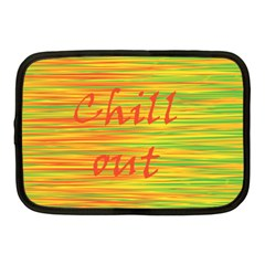 Chill Out Netbook Case (medium)  by Valentinaart