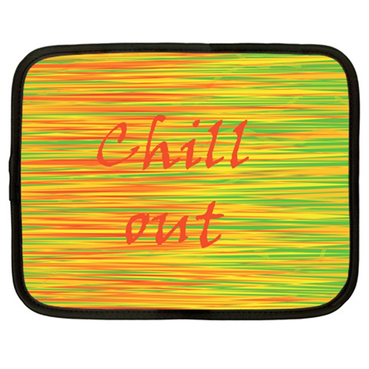 Chill out Netbook Case (XL)