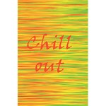Chill out 5.5  x 8.5  Notebooks Back Cover Inside