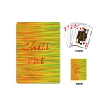 Chill out Playing Cards (Mini)