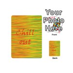Chill out Playing Cards 54 (Mini)  Back