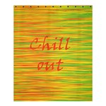 Chill out Shower Curtain 60  x 72  (Medium)  54.25 x65.71 Curtain
