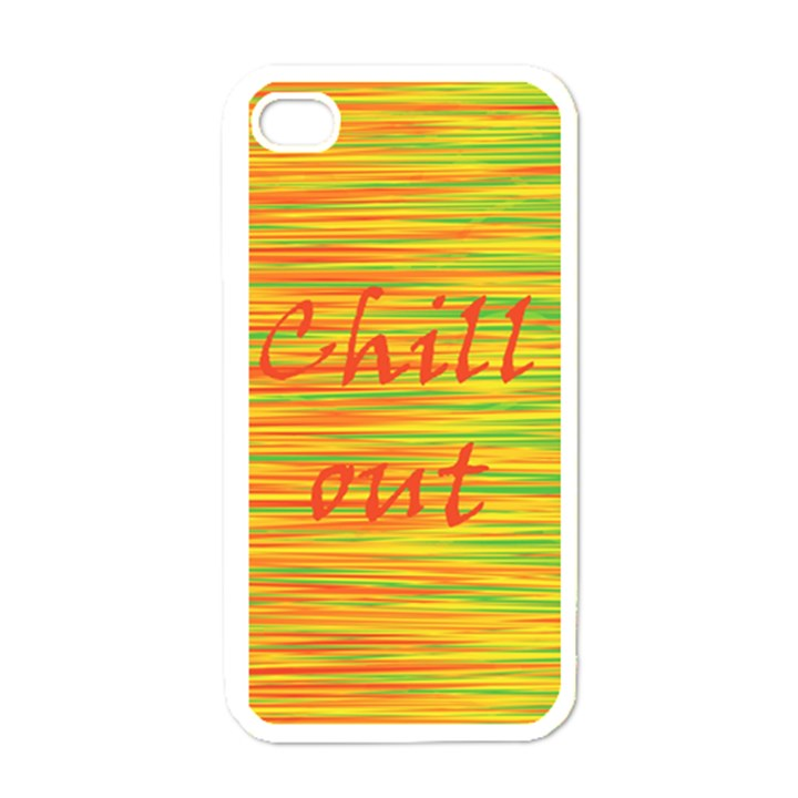 Chill out Apple iPhone 4 Case (White)