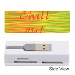 Chill out Memory Card Reader (Stick)  Front