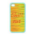 Chill out Apple iPhone 4 Case (Color) Front