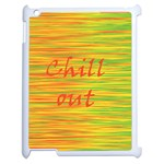 Chill out Apple iPad 2 Case (White)