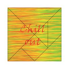 Chill Out Acrylic Tangram Puzzle (6  X 6 ) by Valentinaart