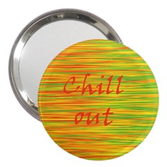 Chill Out 3  Handbag Mirrors by Valentinaart