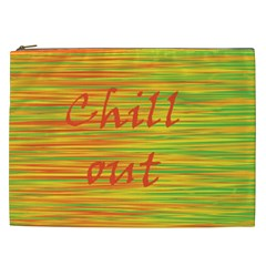 Chill Out Cosmetic Bag (xxl)  by Valentinaart
