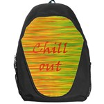 Chill out Backpack Bag Front