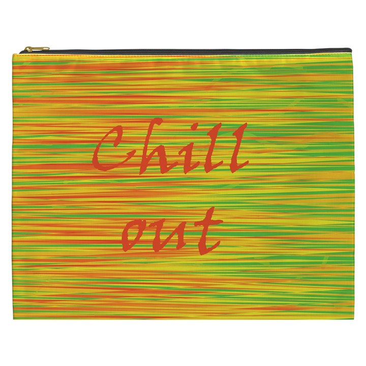 Chill out Cosmetic Bag (XXXL)