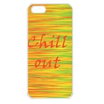 Chill out Apple iPhone 5 Seamless Case (White) Front