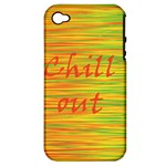 Chill out Apple iPhone 4/4S Hardshell Case (PC+Silicone)