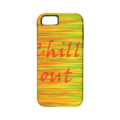 Chill Out Apple Iphone 5 Classic Hardshell Case (pc+silicone) by Valentinaart