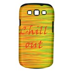 Chill out Samsung Galaxy S III Classic Hardshell Case (PC+Silicone)
