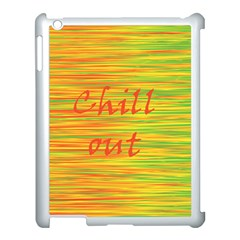 Chill Out Apple Ipad 3/4 Case (white) by Valentinaart