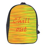 Chill out School Bags (XL)  Front