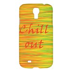 Chill out Samsung Galaxy S4 I9500/I9505 Hardshell Case