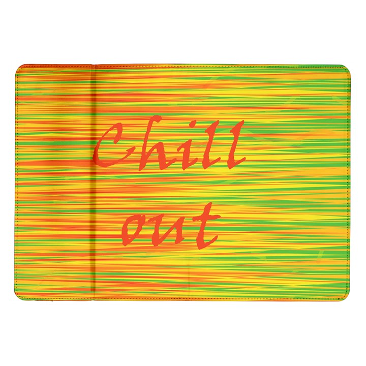 Chill out Samsung Galaxy Tab 10.1  P7500 Flip Case