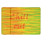 Chill out Samsung Galaxy Tab 8.9  P7300 Flip Case