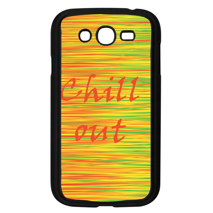 Chill out Samsung Galaxy Grand DUOS I9082 Case (Black)