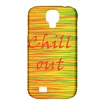 Chill out Samsung Galaxy S4 Classic Hardshell Case (PC+Silicone)