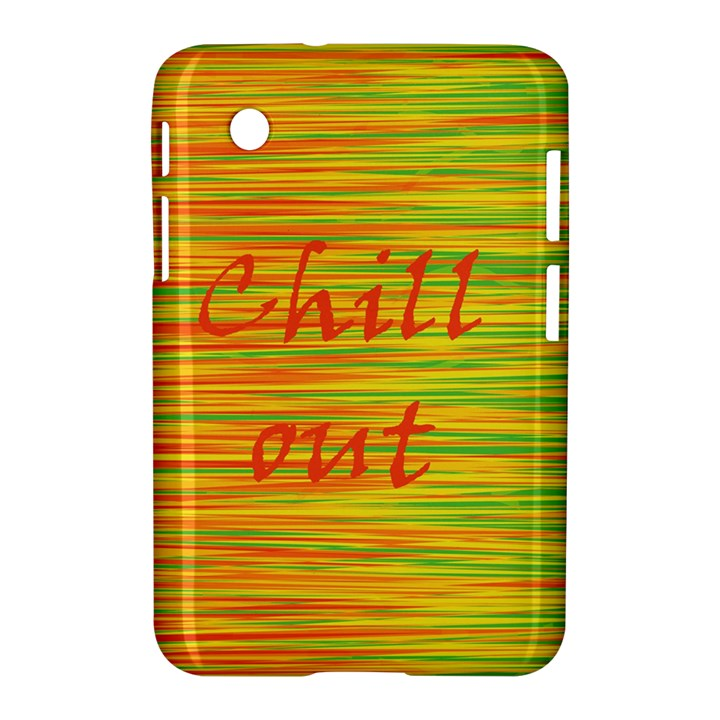 Chill out Samsung Galaxy Tab 2 (7 ) P3100 Hardshell Case