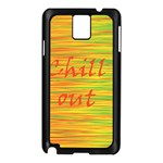 Chill out Samsung Galaxy Note 3 N9005 Case (Black)