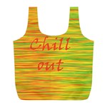 Chill out Full Print Recycle Bags (L)  Front