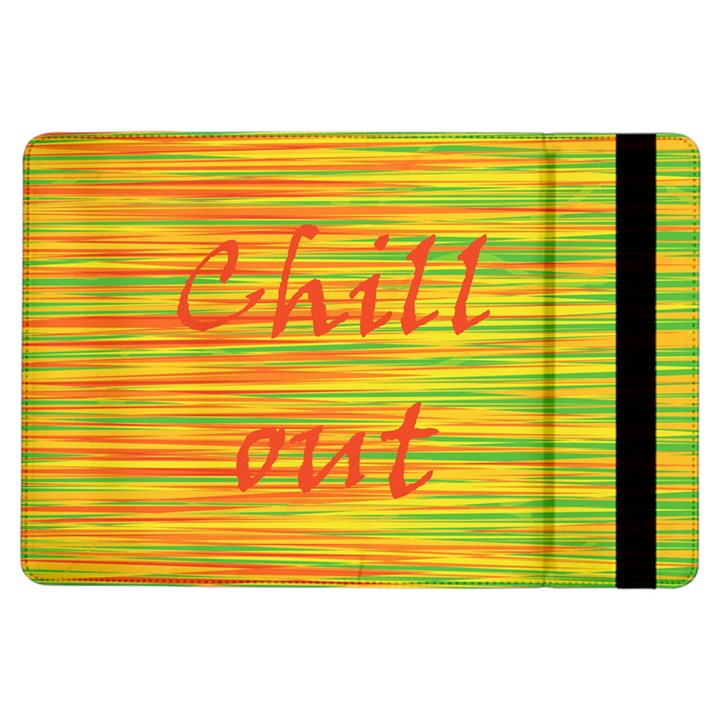 Chill out iPad Air Flip