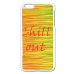 Chill out Apple iPhone 6 Plus/6S Plus Enamel White Case Front