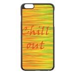 Chill out Apple iPhone 6 Plus/6S Plus Black Enamel Case Front