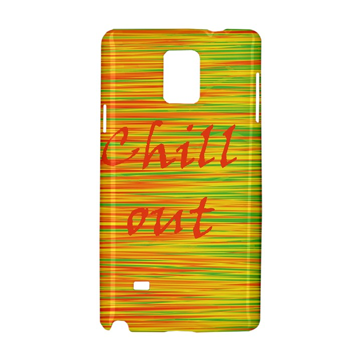 Chill out Samsung Galaxy Note 4 Hardshell Case