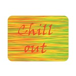 Chill out Double Sided Flano Blanket (Mini)  35 x27 Blanket Front