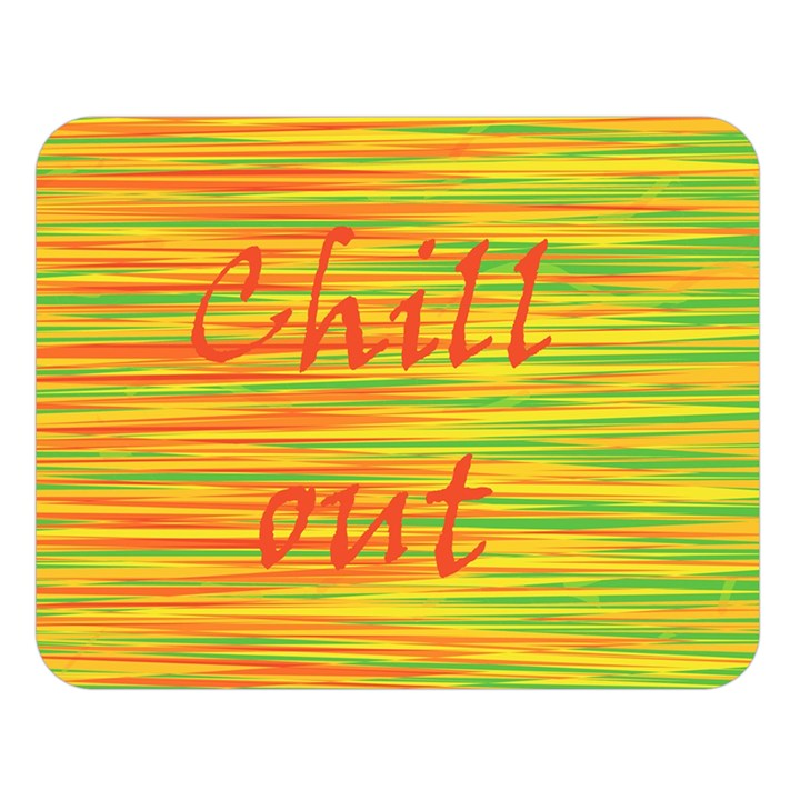 Chill out Double Sided Flano Blanket (Large)