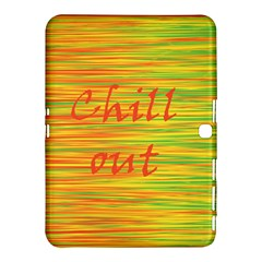 Chill Out Samsung Galaxy Tab 4 (10 1 ) Hardshell Case