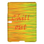 Chill out Samsung Galaxy Tab S (10.5 ) Hardshell Case