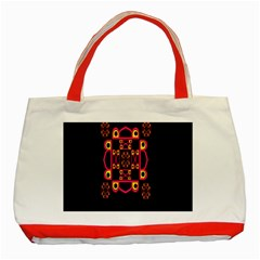 Letter R Classic Tote Bag (red) by MRTACPANS