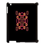 LETTER R Apple iPad 3/4 Case (Black) Front