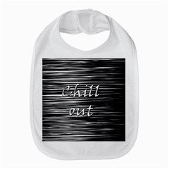 Black An White  chill Out  Bib by Valentinaart