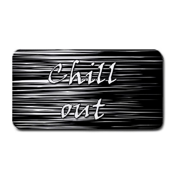 Black an white  Chill out  Medium Bar Mats