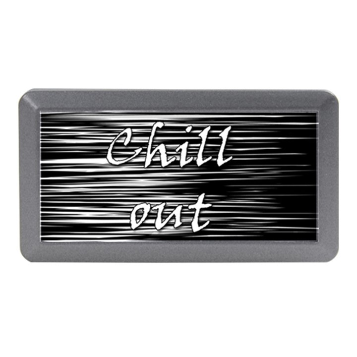 Black an white  Chill out  Memory Card Reader (Mini)