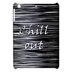 Black An White  chill Out  Apple Ipad Mini Hardshell Case
