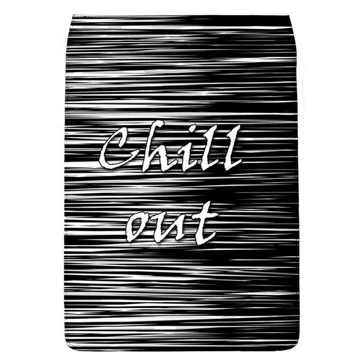 Black an white  Chill out  Flap Covers (L)