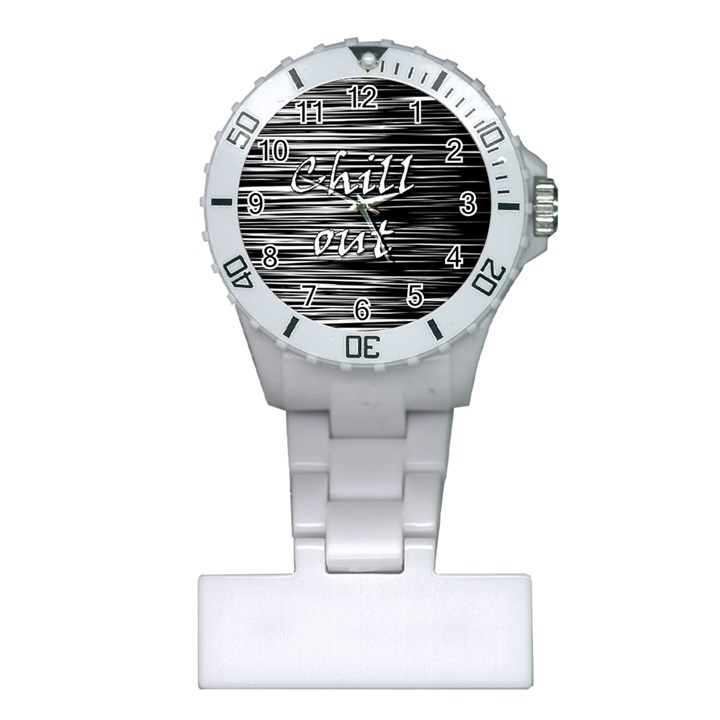Black an white  Chill out  Plastic Nurses Watch