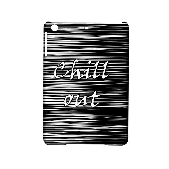 Black an white  Chill out  iPad Mini 2 Hardshell Cases